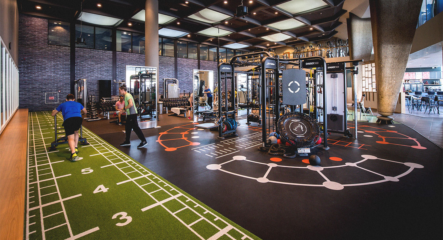 David Lloyd Amsterdam Gym