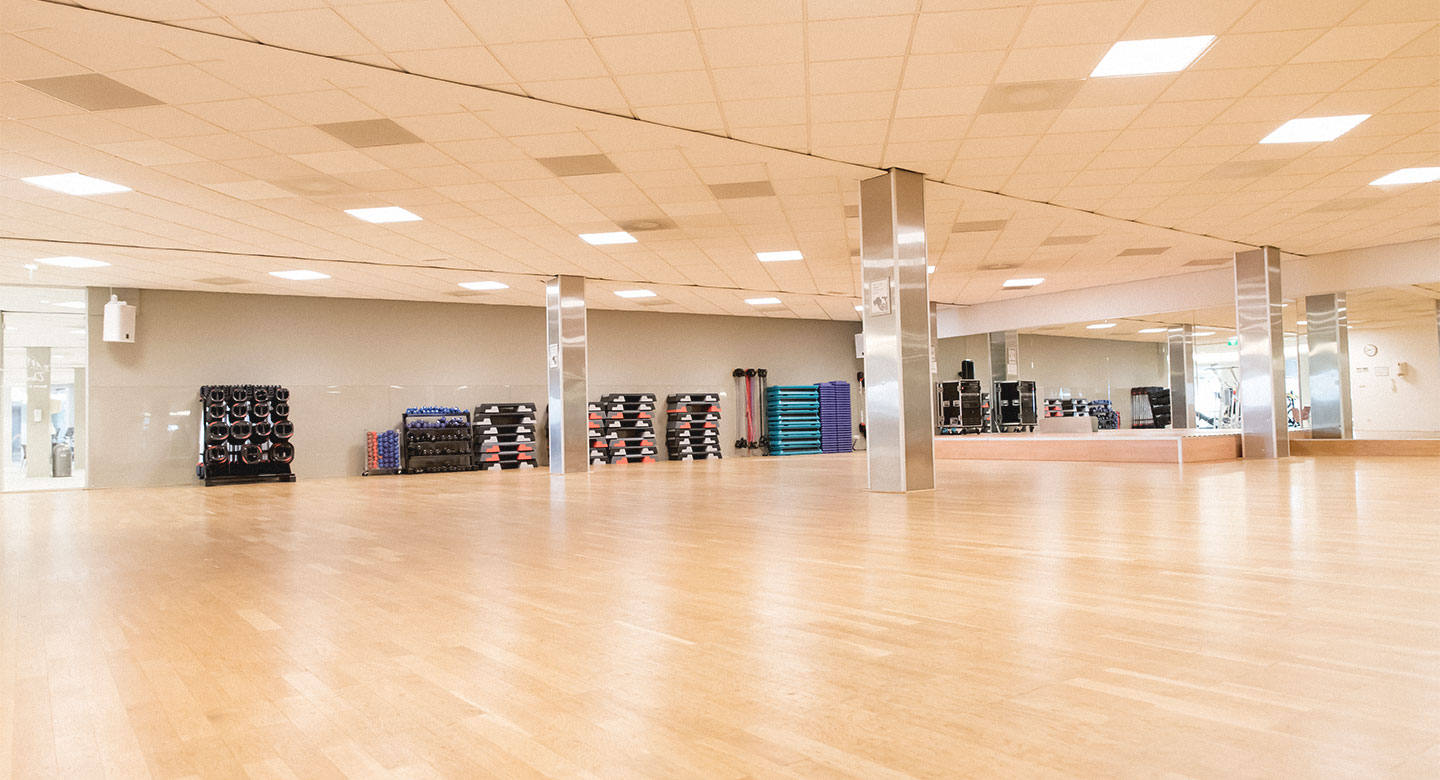 David Lloyd Dordrecht group exercise studio