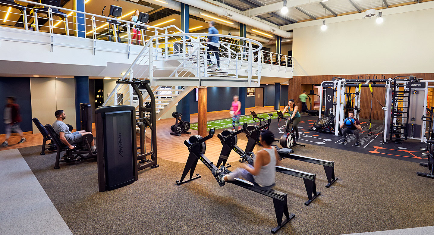 Image of the gym area at David Lloyd Royal Berkshire