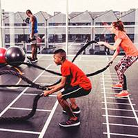 Teen gym at David Lloyd Clubs